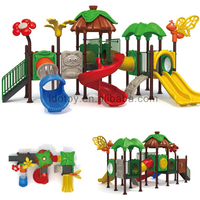 New arrival commercial outdoor pvc pipe playground toys little tikes outside playset