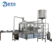 Automatic Plastic Bottle Industrial Apple Juice Production Equipment Making Filling Machine For Sale