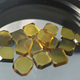 HPHT mono crystal yellow synthetic diamond price per carat for cutting tools