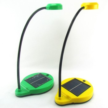 Lovely SUNERGY Solar Table Lamp With Disassemble Solar Panel And Phone Charger