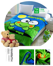 Children Age Washable Printed Fleece School Blankets