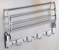 Baiying 2016 Sept New Design Heated Folding Towel Rack