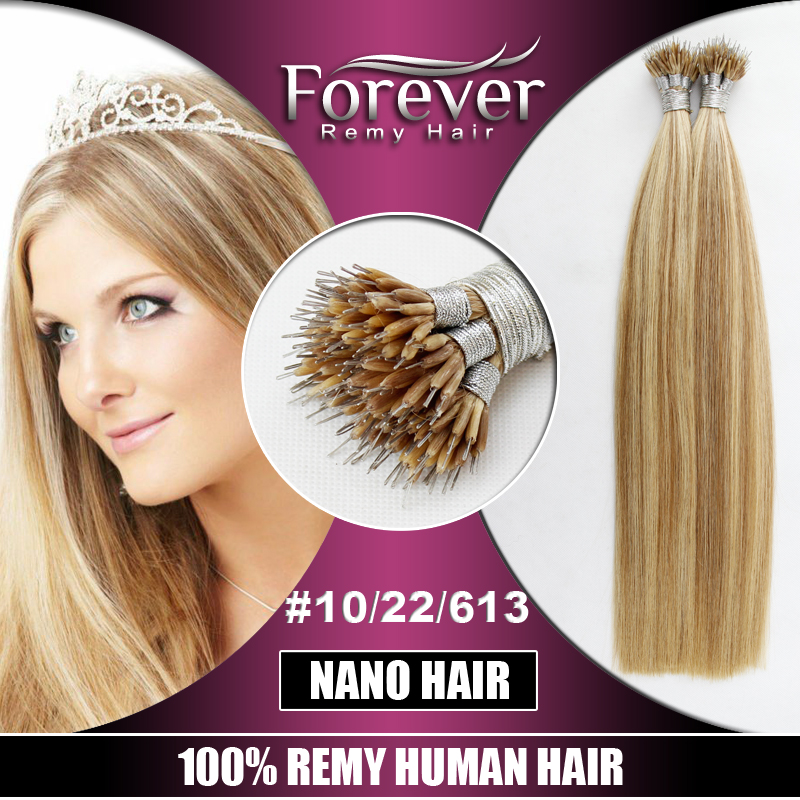 Forever New Trendy Wholesale Premium Piano Color Remy Human Nano