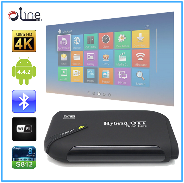 Cheap Price Bluetooth 4.0 pocket digital tv dvb t2 android tv box