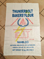 Promotion 50kg pp woven bag / woven polypropylene bag with valve for flour,rice, agriculture