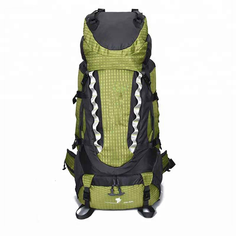 Dingxin Outdoor Sports Mountaineering Bag 80 liters Large Capacity Hiking Backpack