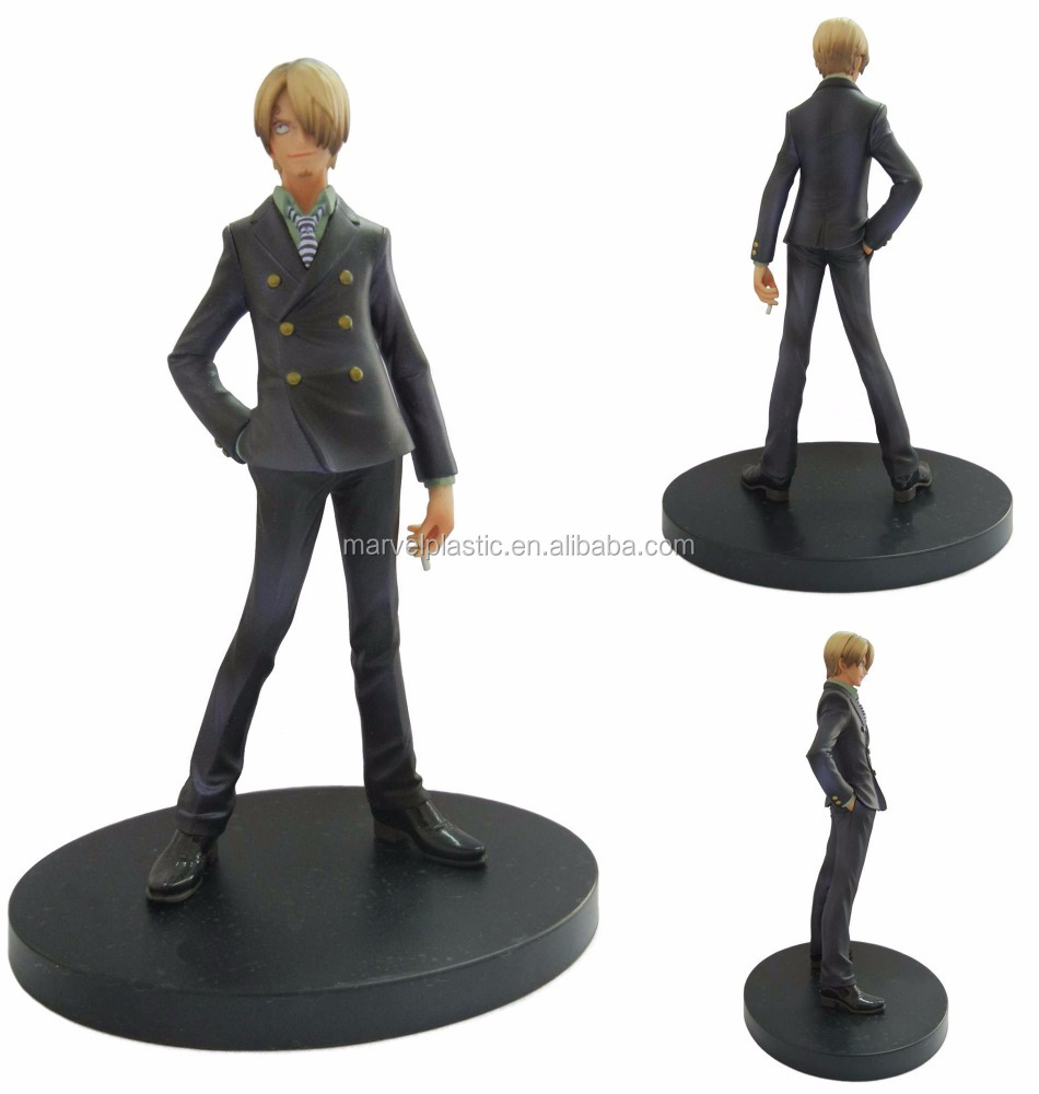 Plastic boy figure manga toy factory