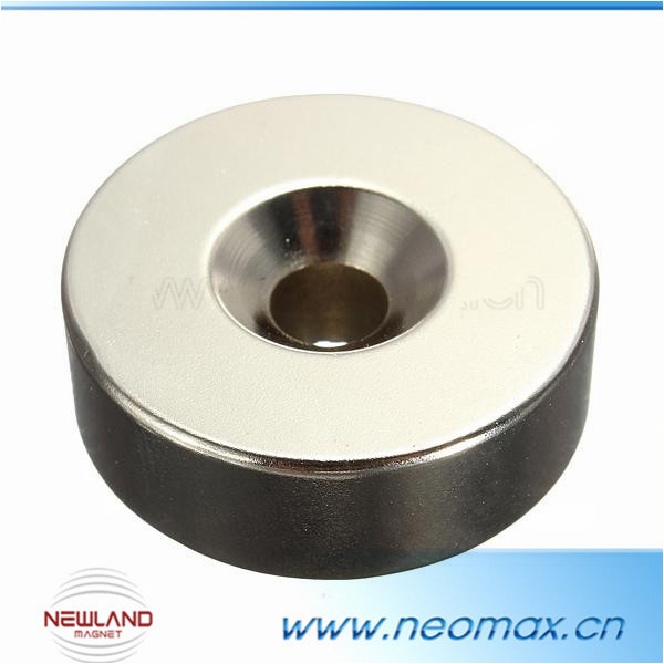 attractive price d25mm countersunk magnets