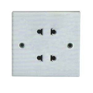 factory low price flush mounted Hot Sale 4 hole Socket Wall Switch Plug Socket 86*86