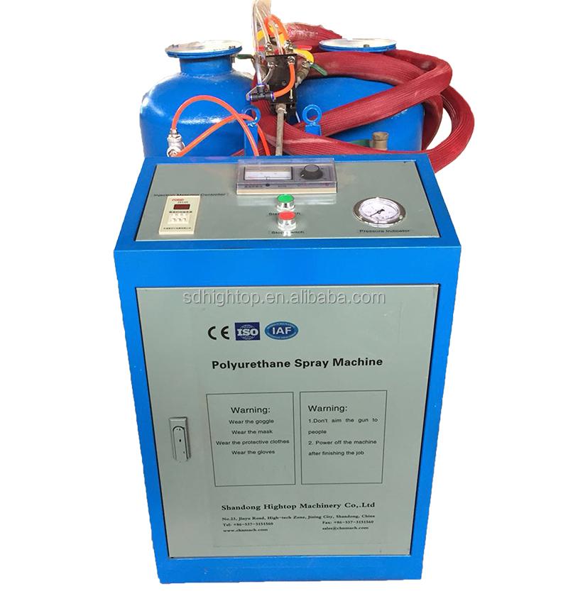 Mini máquina portátil de mezcla de espuma de aislamiento de poliuretano PU A precio de venta