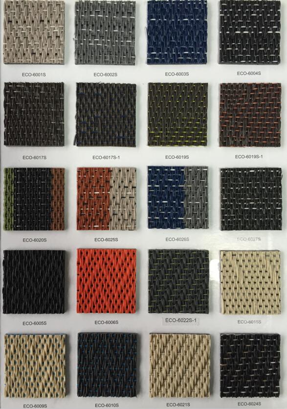 Textured Vinyl Floor New Design Outdoor Washable Plastic Woven Carpet