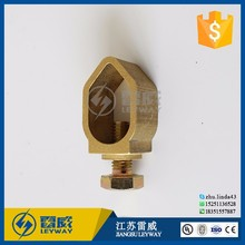 Brass acorn shaped ground Clamp Grounding Rod Clamp