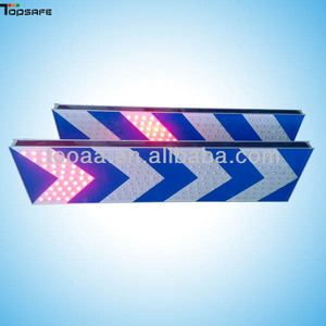 3M Reflector Flashing LED Traffic Sign Board For Road