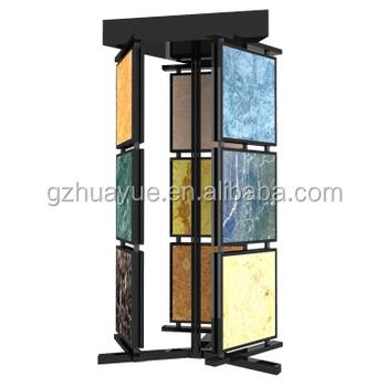 Swing Flooring Metal Tiles Display Stand
