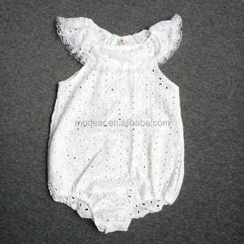 b698c38b2 Modear Newborn Infant Baby Girl Lace White Romper Jumpsuit Rose Sunsuit  Outfits - Buy Newborn Baby Cotton Clothes,Western Girls Outfit,2017 Fashion  ...