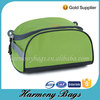 Promotion green polyester men washing bag for toiletries
