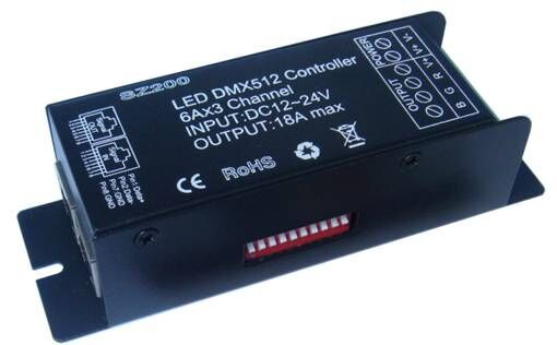 Led dmx512 decoder