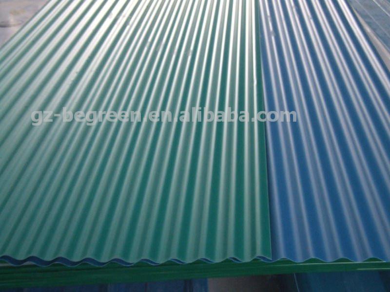 Policarbonato corrugado l minas para techos de pl stico - Techo transparente policarbonato ...