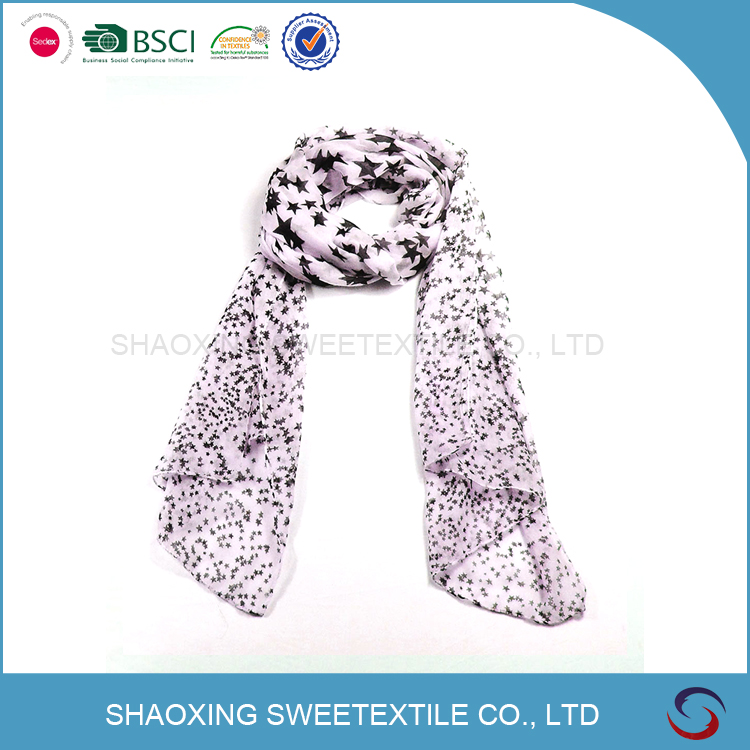 High Quality Luxury Soft Touch Air Hostess Scarf