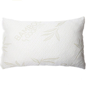 2019 hot sales products latex pillow natural with bamboo fiber pillow cover