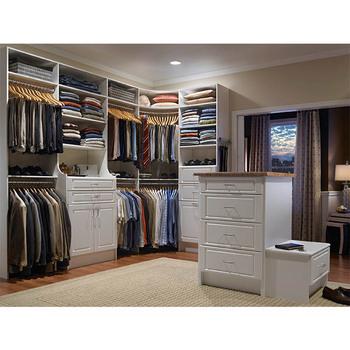 Easy Clean Convenient Simple Bedroom L Shaped Bedroom Wardrobe Closet  Designs