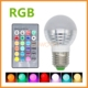 Remote Control 3W 5W 7W E27 E14 16 Color Changeable RGB Christmas Decorate LED Bulb