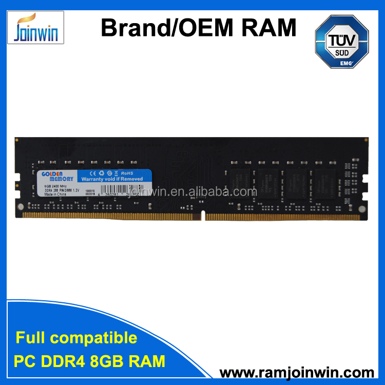 Shenzhen joinwin Trial order kit 1.8v 8GB DDR4 desktop RAM memory