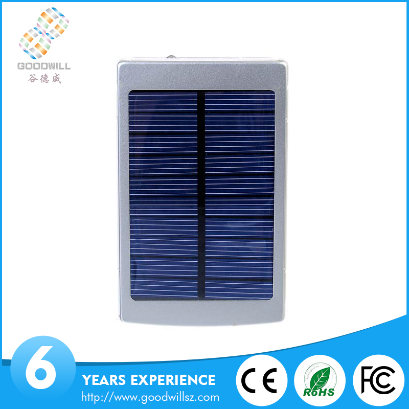 Solar power bank, mobile solar charger, solar mobile phone charger