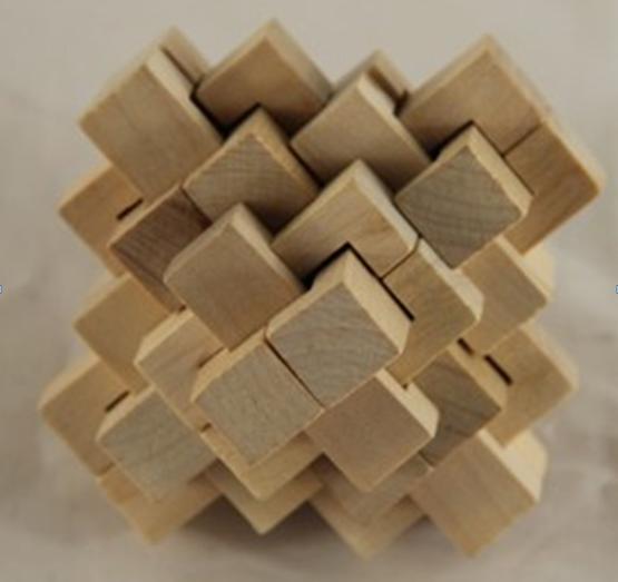 holzspielzeug w rfel brain teaser r tsel holz iq block puzzle spielzeug andere spielzeuge und. Black Bedroom Furniture Sets. Home Design Ideas