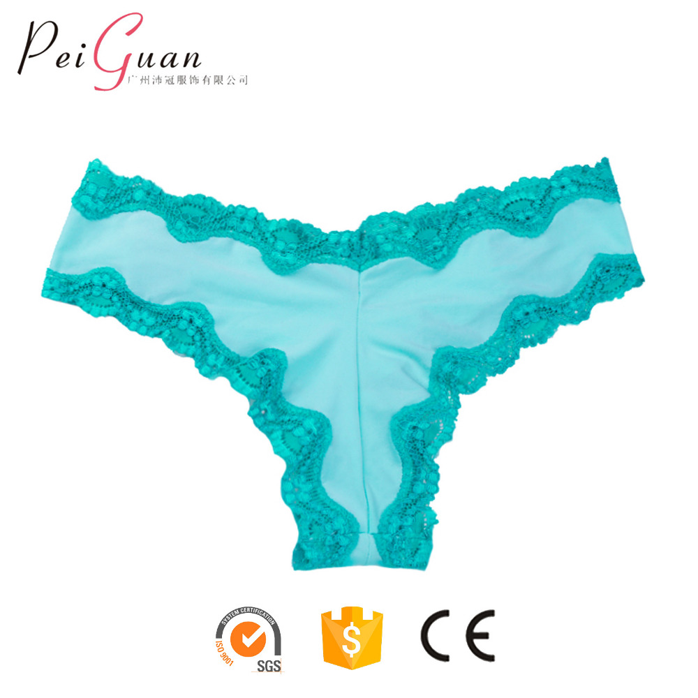 00a30852888f wholesale female undies undergarments lace g-string sexy underwear panties  womens thong silk panties