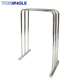Removable 3 Rail Round Metal Bathroom Classical Towel Rack