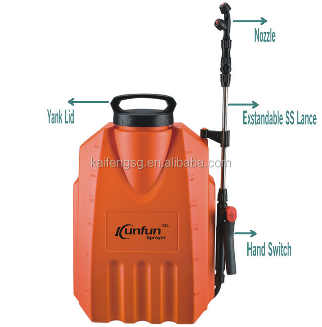 12 LITER AGRAR RUCKSACK BATTERIE POWER SPRAYER