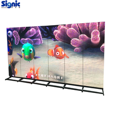 shop mall P3 indoor led moving TV adverting display with wifi/3G/4G controller HD smart led display poster
