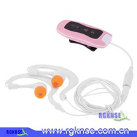 2016 Portable Waterproof MP3 Player with FM Radio Underwater 4GB MP3 Player in shenzhen