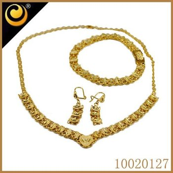 Costume Jewelry Set Guangzhou Jewellery Sets Saudi Gold Jewellery