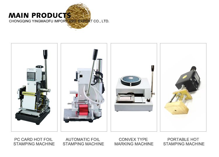 Hoge Kwaliteit Goede Prijs Embossing logo Machine, Warmdrukfolie Drukmachine