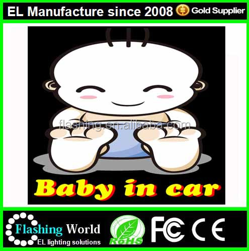 High quality equalizer el car sticker,Custom El panel for car sticker