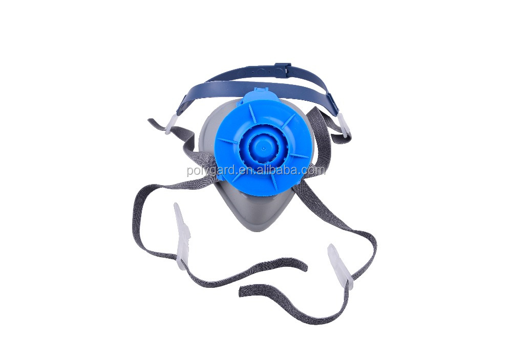 Silicone Filter Respirator Safety Mask PM2.5