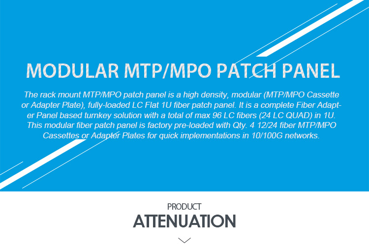 Necero 20 years fibra optica cable ODM manufacturer supply 8 12 24 core fiber optic patch panel