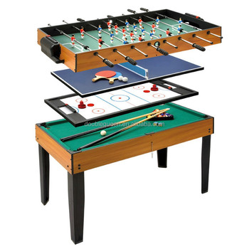 4 In 1 Multi Game Table For Adult Soccer Table/pool Table/ping Pong