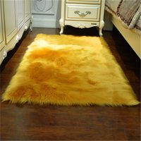 Super Area Rugs Soft Faux Fur Fake Sheepskin White For Sofa Couch Stool Casper Chair