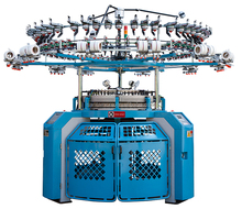 high quality circular fleece weft knitting machine with lycra
