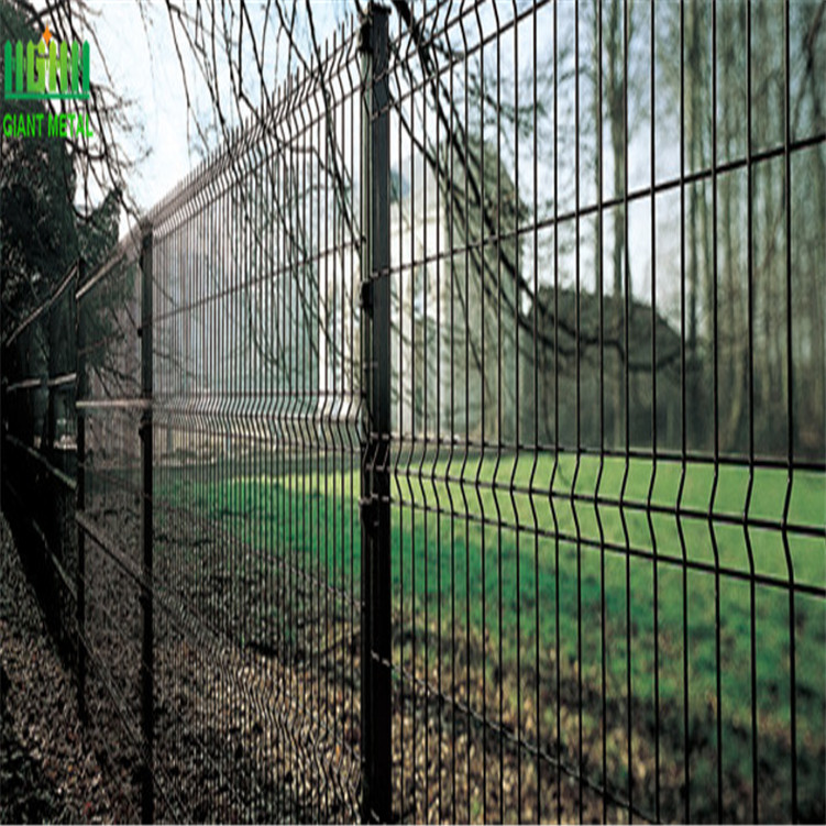 PVC Coated Welded Wire Mesh Fence Panels - Hebei Giant Metal ...