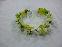 flower head garland