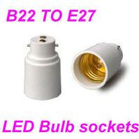Lamp Holder Converters Bulb Adaptor B22 To E27 Candelabra Led Bulb ...
