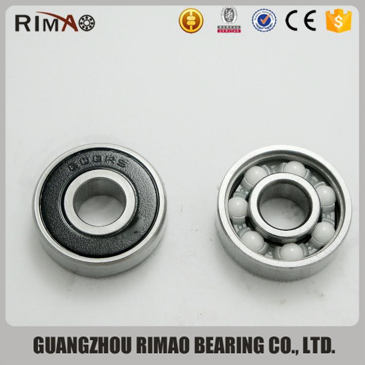 608rs bearing. abec-7 roller skate bearing 608 hybrid ceramic 608rs fidget spinner