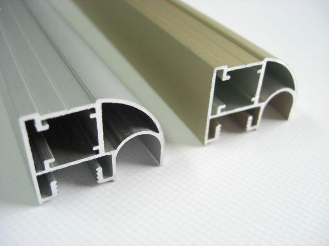 Perfil de aluminio muebles para puertas correderas for Perfiles aluminio para muebles