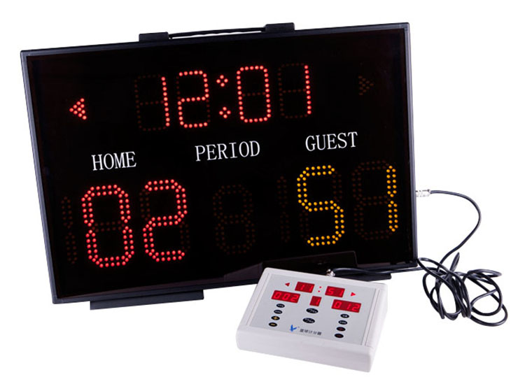 Electronic LED Basketball/Football Display Score Board, ledbasketball scoreboard with LED