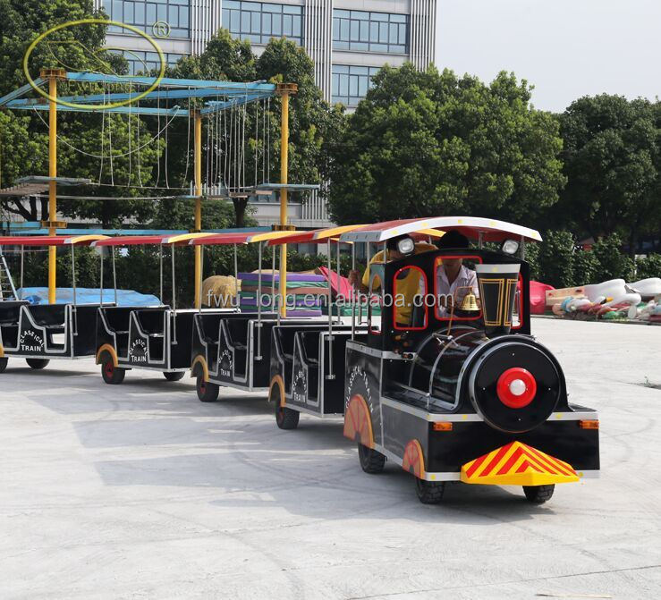 The Latest Amusement Park rides train trips usa in hot sale outdoor trackless train