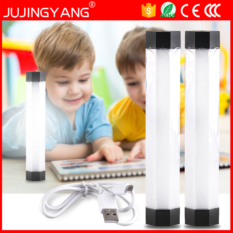 USB rechargeable portable mini emergency led lamp tube for camping